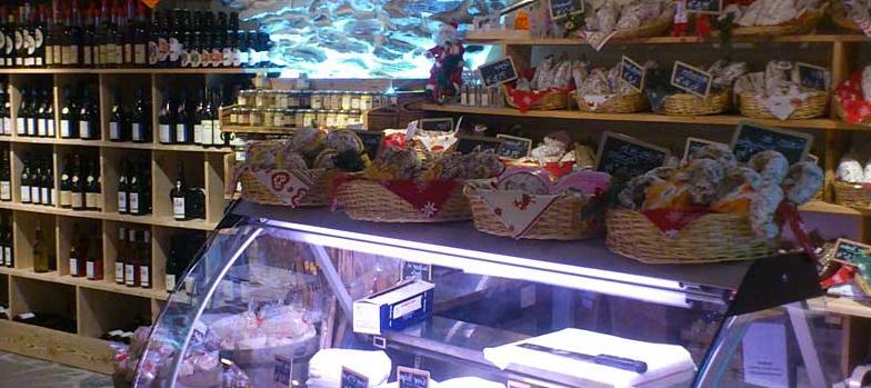 Une boutique de produits savoyards