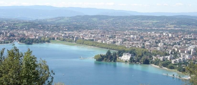 Annecy vue de haut
