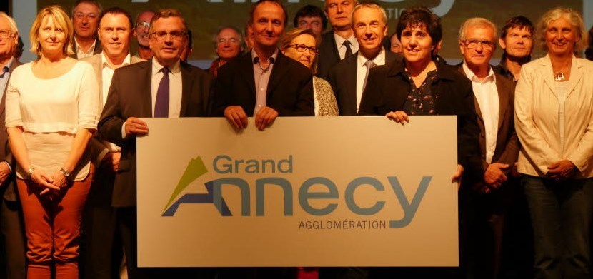 Logo du Grand Annecy Agglomération