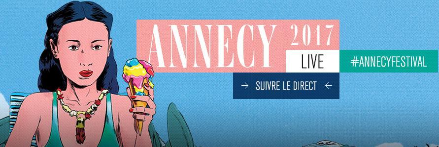 Le festival international du film d'animation à annecy
